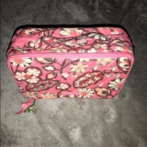 Vera Bradley cosmetic travel bag